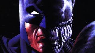 ALIEN vs BATMAN EXPLAINED - Batman Aliens Two Human Alien Hybrids