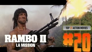 Top 25 Action Movies #20 RAMBO 2 - LA MISSION