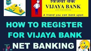 HOW TO ACTIVATE VIJAYA BANK NET BANKING FROM ONLINE AND OFFLINE