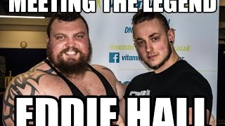 Journey To Strong Man Day 7 - Meeting The Beast Eddie Hall - 29/05/2016