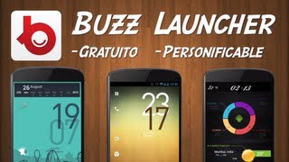Buzz Launcher - Personalización Extrema de Android