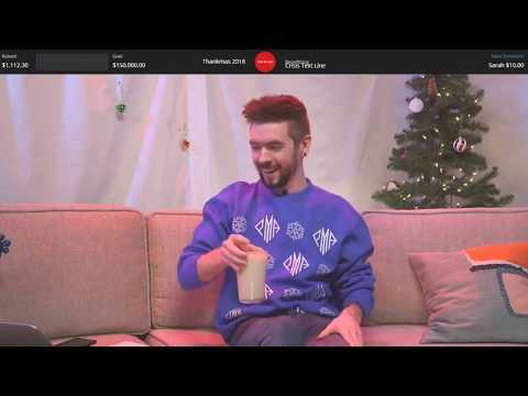 Christmas Charity Livestream - Thankmas 2018 #Thankmas