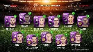 Featured Players Of The Week • Special Agents