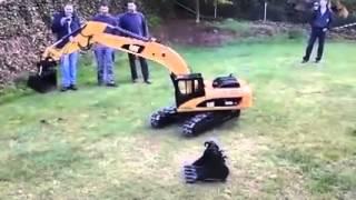 Remote Control CAT excavator