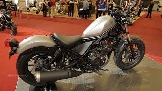 2017 Honda Rebel - Walkaround - 2017 Montreal Motocycle Show