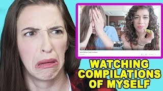 Reacting To Compilations of Myself