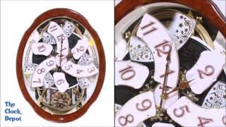 Rhythm Woodgrain Marvelous 4MH412WU23 Musical Clock for Sale