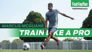 Arsenal wonderkid Marcus McGuane | How to score goals from midfield | Train like a Pro