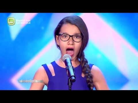 Arabs Got Talent - مرحلة تجارب الاداء - لبنان– نجلاء صادق