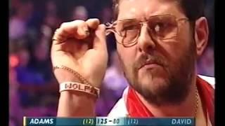 Adams vs David Darts World Championship 2002 Semi Final