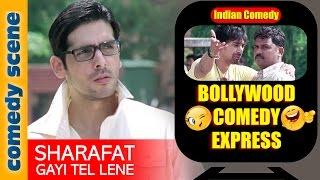 Rannvijay Singh Comedy Scene {HD} | Bollywood Comedy Express | Sharafat Gayi Tel Lene | Indiancomedy