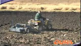 DuraGrade Hydraulic Rock Picker for ATVs and Utility Tractors