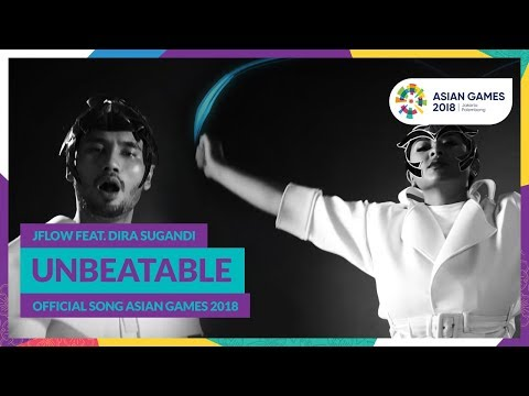 Download UNBEATABLE - JFlow Feat. Dira Sugandi - Official Song Asian Games 2018 free