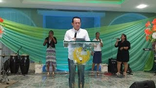 2018 Apóstol Rafael Ramires predicando sobre el amor hacia Dios
