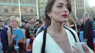 Iveta Mukuchyan Armenia @ Eurovision 2016 red carpet | wiwibloggs