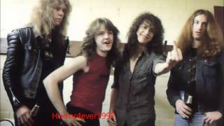 Metallica live in Espace ballard, Paris, France 1984-11-18 Cliff Solo and Trapped under ice RARE HD