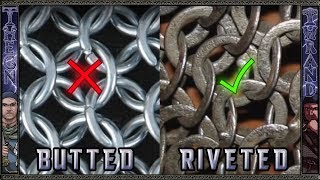 Stop Using Modern Butted Chainmail for Historical Maille Testing!