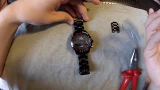 Curren часы как укоротить браслет