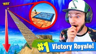 *MAX* HEIGHT new BOUNCE TRAP JUMP in Fortnite: Battle Royale!