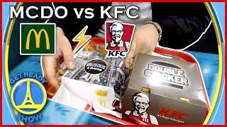 MCDO vs KFC (FOOD FIGHT) - GET READY SHOW #27