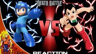 Mega Man VS Astro Boy   DEATH BATTLE! REACTION!!! (Steven Z KILLER)