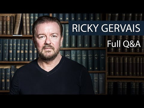 Ricky Gervais | Full Q&A | Oxford Union