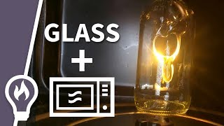 You CAN melt glass in a microwave (microwaves explained) - Filmed from the inside #3