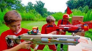 Nerf War: Capture the Flag
