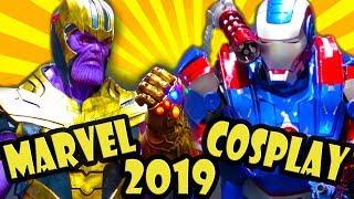 Cosplay Marvel Terbaik - Komik Con 2019