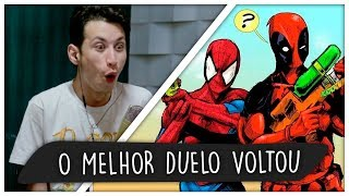 REACT Homem-Aranha VS. Deadpool 2 | Duelo de Titãs