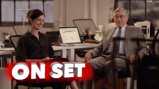 The Intern: Behind the Scenes Movie Broll - Robert De Niro, Anne Hathaway