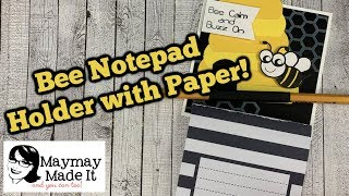 Easy Notepad Topper!!!