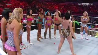 AJ Lee Wrestling Bloopers