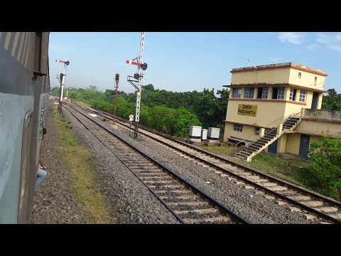 Journey Compilation(Part-1) : Onboard Nabadwip Dham Express,From Jangipur(JRLE) to Malda(MLDT)