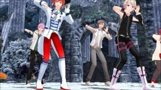 【MMD】Ikkitousen - IO, Arsloid, Takahashi, Yuuma(VY2), Fukase 【Vocaloid, Fanloid, CeVio】