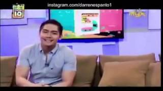 MYX Daily Top 10 - Makin' Moves by Darren Espanto on No. 1 (01/08/16)