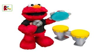 Sesame Street Let's Rock Elmo- Sings 6 Songs including ABC song, Recognizes Instruments