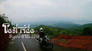 Test Ride Supra Gtr 150 #BELAJAR_NGEDIT #1Menit