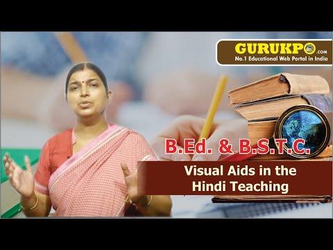Visual Aids In The Hindi Teaching Lecture, BEd by Sunita Kumari Sharma.