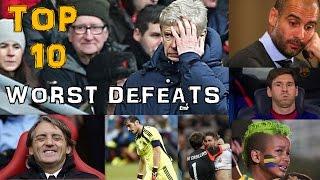 Worst defeats in football history (recent) |Top 10|