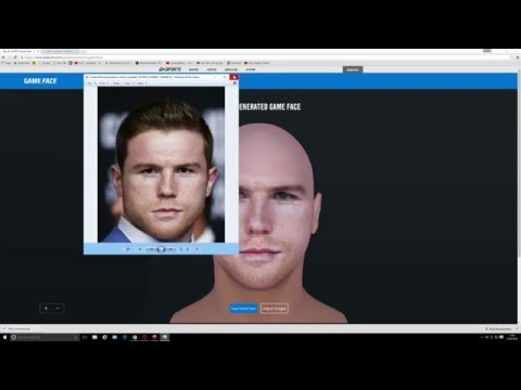 EA SPORTS GAME FACE 2016 How to use and Demonstration