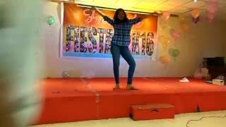 Pakka Local  dance Performance  in  MVGR  College Of engineering freshers 2016