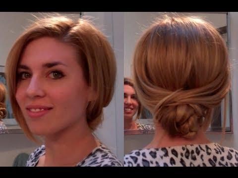 Knot bun Low bun hair tutorial easy hairstyles for long hair