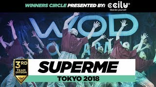 SuperMe   2nd Place Team Division   Winners Circle   World of Dance Tokyo 2018