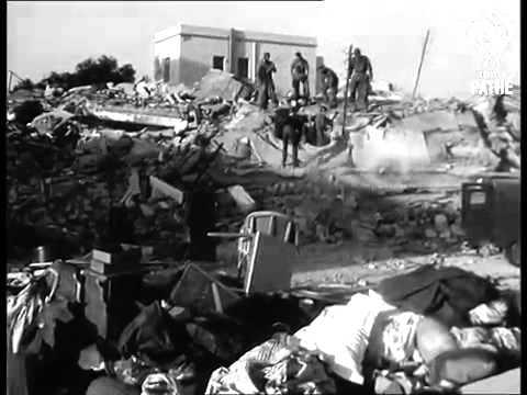 LE TREMBLEMENT DE TERRE D AGADIR 1960