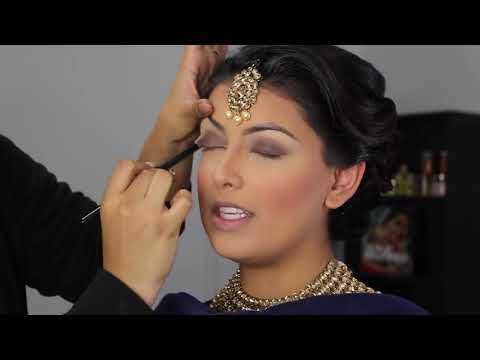 Indian Bollywood South Asian Bridal Makeup   Start to Finish   Mona Sangha
