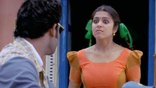 Prabhas Teasing Charmy Hilarious Comedy Scene || Pournami Movie