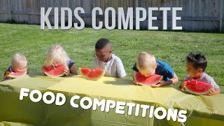 FOOD COMPETITION | Kids Compete!