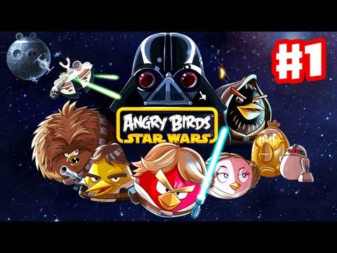 Angry Birds Star Wars Gameplay Walkthrough Part 1 Tatooine 3 Stars Windows PC Android iOS