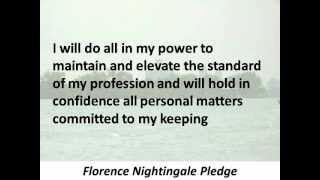 Nightingale Pledge - Hear and Read the Full Text